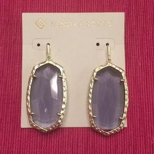 Kendra Scott Amethyst Earrings